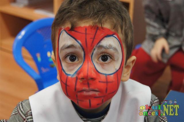 Yüz boyama örnekleri sınıfımdan