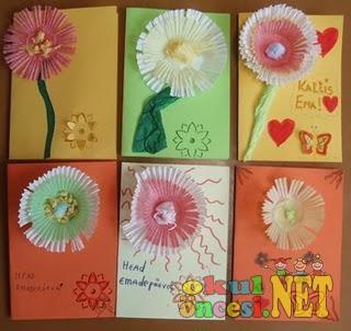 Anneler günü kartları