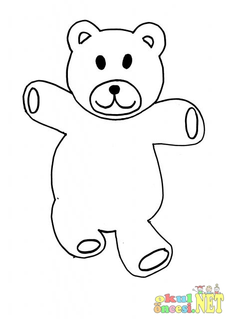Download image Teddy Bear Craft Template PC, Android, iPhone and iPad ...