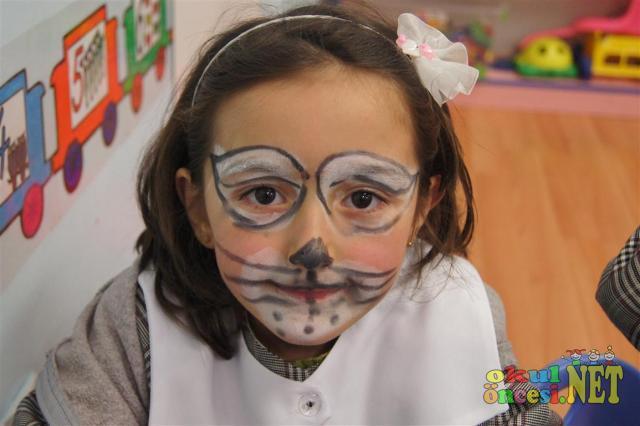 Yüz Boyama örnekleri Sınıfımdan Okul öncesi Okul öncesi
