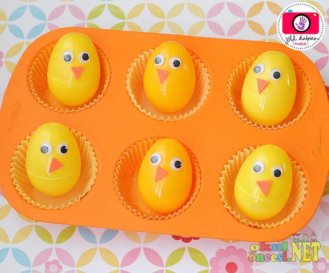 Sürpriz Yumurtadan Civciv Okul öncesi Okul öncesi Etkinlikleri