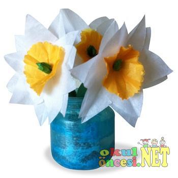Annelerimiz Için Kavanoz Boyama Ve çiçekler Okul öncesi Okul