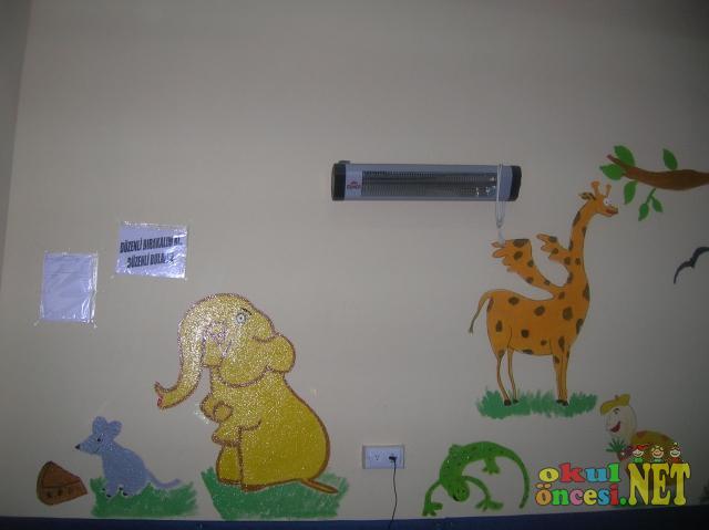 Emet Gülten Dayıoğlu Anaokulu Duvar Süsleri 2 Okul öncesi Okul