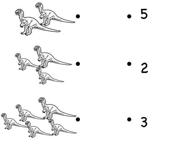 Dinozor Matematik Calisma Sayfasi 2 Okul Oncesi Okul Oncesi