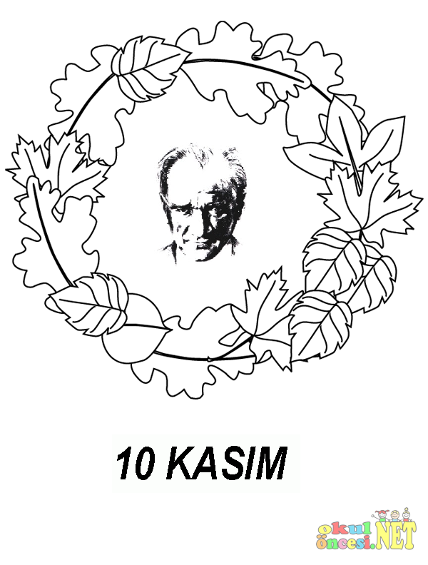 10 Kasim Icin Hazirladigim Yeni Ataturk Cerceveleri Okul Oncesi