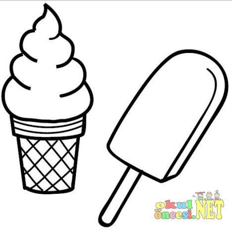 Dondurma Boyamaları Okul öncesi Okul öncesi Etkinlikleri Ana Okulu