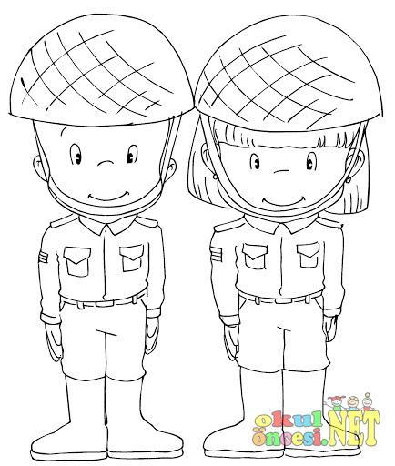 Küçük Askerler Okul öncesi Okul öncesi Etkinlikleri Ana Okulu