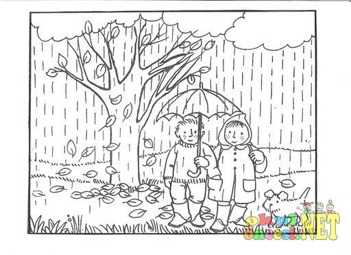Sonbahar Konulu Boyamalar Okul öncesi Okul öncesi Etkinlikleri