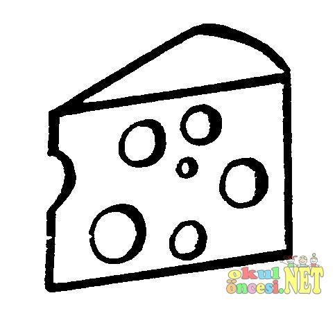 Peynir çeşitleri Boyama Okul öncesi Okul öncesi Etkinlikleri