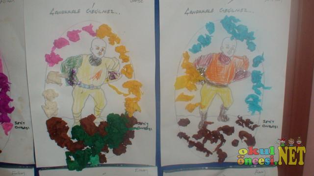 Seyit Onbaşı Ve çanakkale Geçilmez Panomuz Okul öncesi Okul