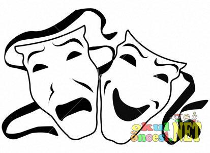 Tiyatro Maske Boyamalari 40 Tane Okul Oncesi Okul Oncesi