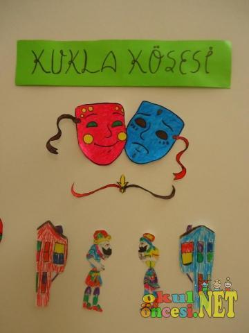 Kukla Köşemiz Maskeli Hacivat Ve Karagöz Sahneli Okul öncesi