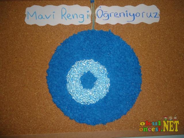 Mavi Rengi Günümüzden Etkinlikler Okul öncesi Okul öncesi
