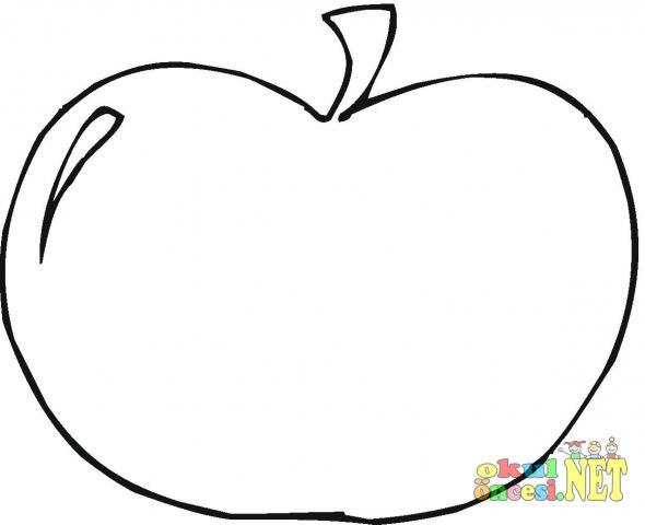 Elma Boyaması Okul öncesi Okul öncesi Etkinlikleri Ana Okulu