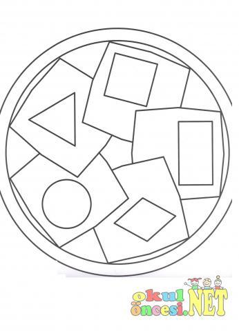 Yeni 2019 Geometrik Boyama En Iyi Boyama Cocuk Kitabi