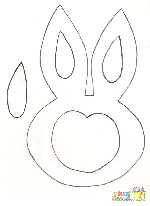 Tavşan Tacı Kalıplı Okul öncesi Okul öncesi Etkinlikleri Ana Okulu