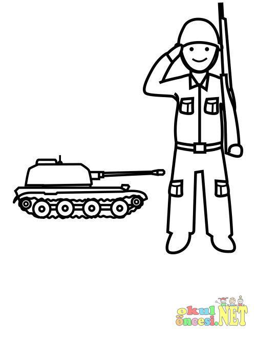 Asker Boyama Okul öncesi Okul öncesi Etkinlikleri Ana Okulu