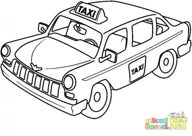 Taksi Boyama Okul öncesi Okul öncesi Etkinlikleri Ana Okulu