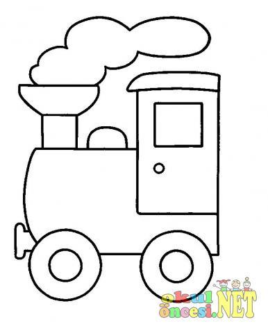 Tren Boyama Sayfaları Okul öncesi Okul öncesi Etkinlikleri Ana