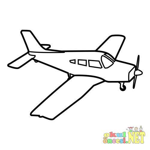 Ucak Ve Helikopter Boyama Okul Oncesi Okul Oncesi Etkinlikleri