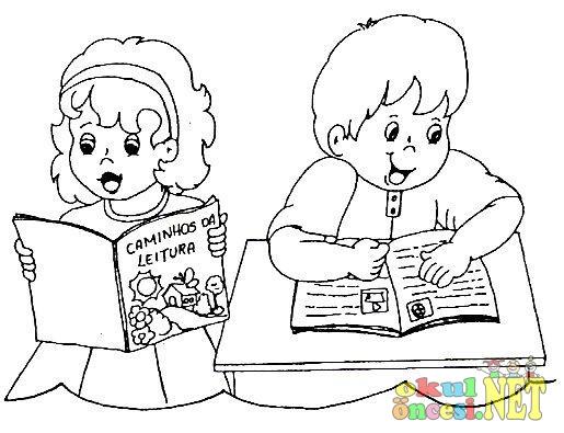 çocuk Kitapları Haftası Için Boyamalar Okul öncesi Okul öncesi