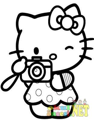 Hello Kitty Boyama Sayfalari Okul Oncesi Okul Oncesi