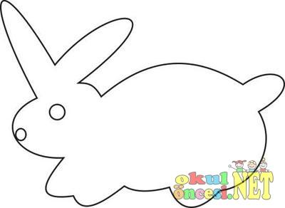 Pirinçten Yapılmış Tavşan Kalıplı Okul öncesi Okul öncesi