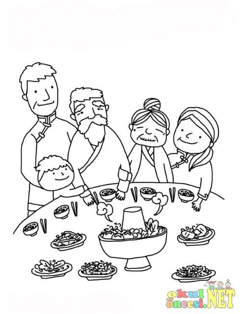 Farklı Kültürlerin Yemekleri çin Okul öncesi Okul öncesi