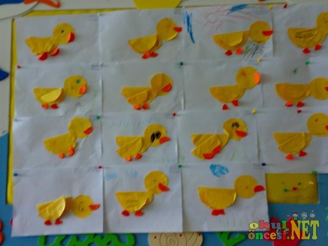 4 Yaş Kelebekler Sınıfımın Kağıt Katlama çalışmalarından örnekler Okul öncesi Okul öncesi Etkinlikleri Ana Okulu