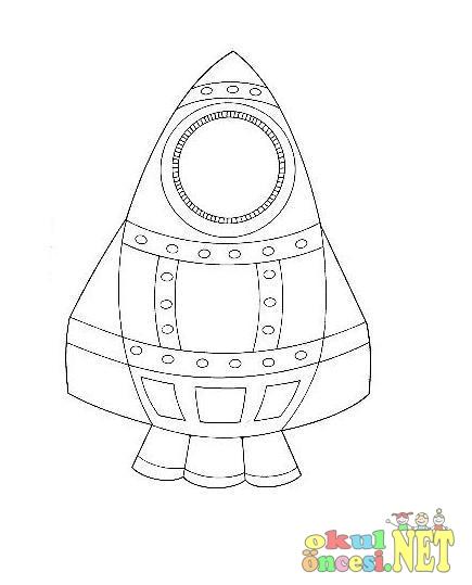 Roket Boyama Okul öncesi Okul öncesi Etkinlikleri Ana Okulu