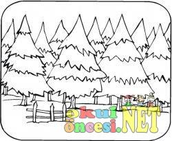 çam Ağaçları Ormanı Okul öncesi Okul öncesi Etkinlikleri Ana Okulu