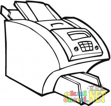 Yazici Ve Fotokopi Makinesi Okul Oncesi Okul Oncesi