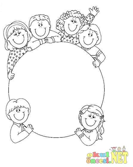 Dünya çocuk Boyaması Okul öncesi Okul öncesi Etkinlikleri Ana