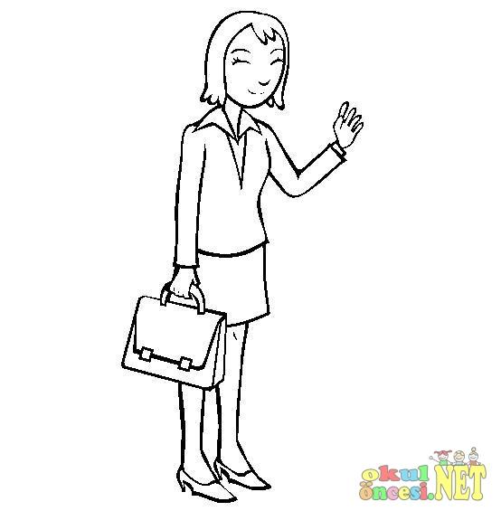 Avukat Dedektif Boyama Okul öncesi Okul öncesi Etkinlikleri
