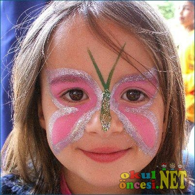 Yüz Boyama örnekleri Okul öncesi Okul öncesi Etkinlikleri Ana