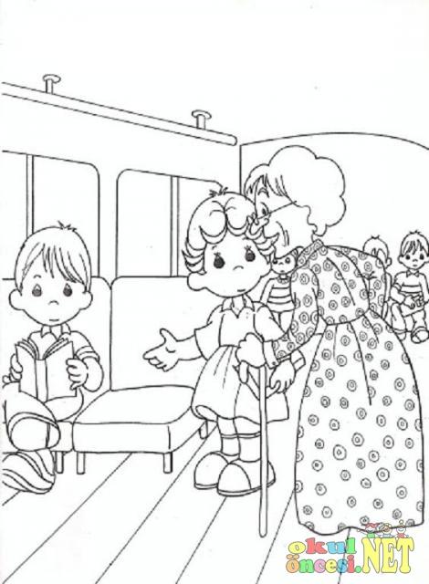 Saygı Konulu Boyamalar Okul öncesi Okul öncesi Etkinlikleri