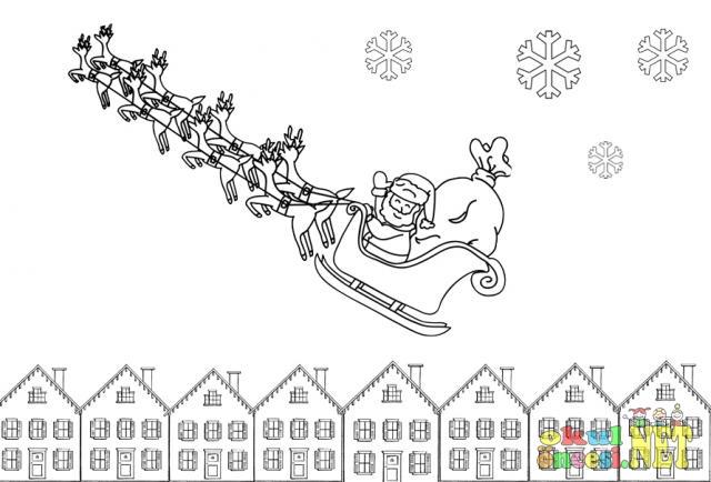 Noel Babalı Yeni Yıl Boyama Okul öncesi Okul öncesi Etkinlikleri